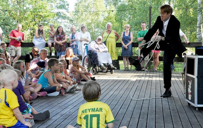 Bergkvara AIF - Bergkvara Sommarfest 2014, Fredrik Trollkarl