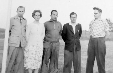 Bergkvara AIF - Eldsjälar som bygde Hagaborgs IP 1957
