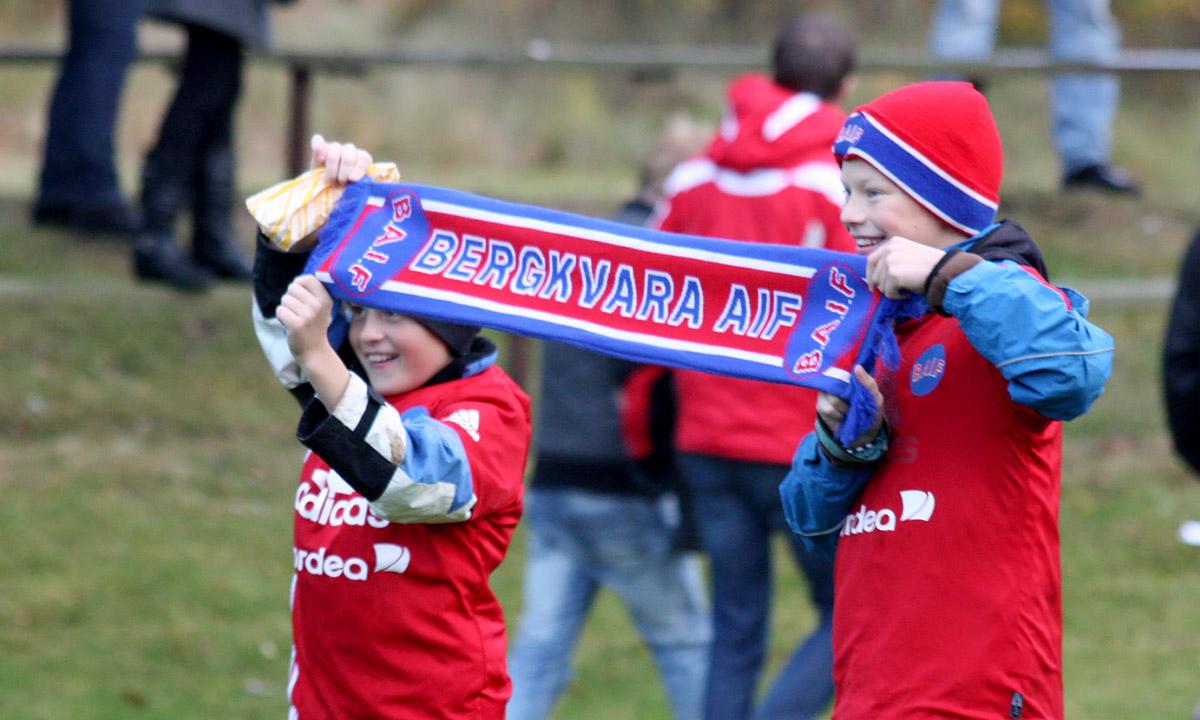 Bergkvara AIF unga supportrar 2009