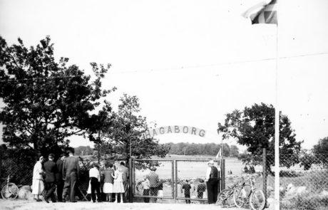 Bergkvara AIF - Hagaborgs IP invigs 1957