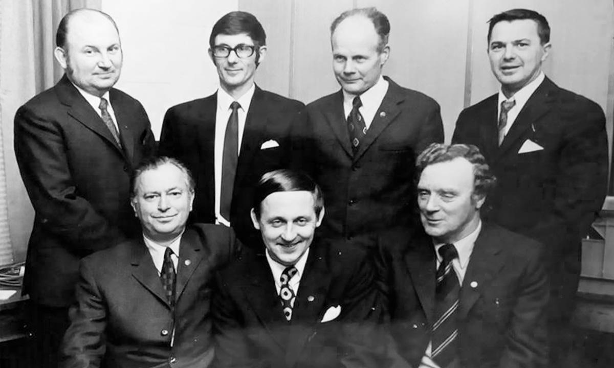 Bergkvara AIF - Styrelsen 1971