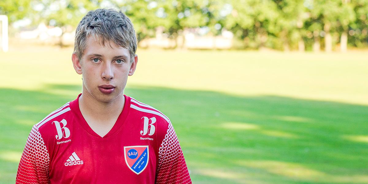 Hampus Holgersson, Bergkvara AIF
