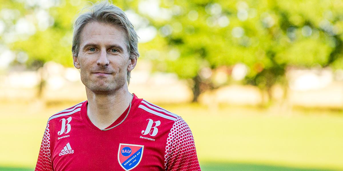 Johan Blomqvist, Bergkvara AIF