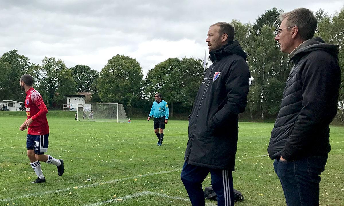 Bergkvara AIF - Tränarduo Roger Nilsson och Rickard Johansson